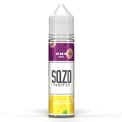 SQZD Fruit Co Grape & Pineapple 50ml Shortfill