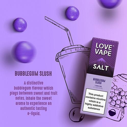 Love Vape Nic Salt 10ml - Bubblegum Slush
