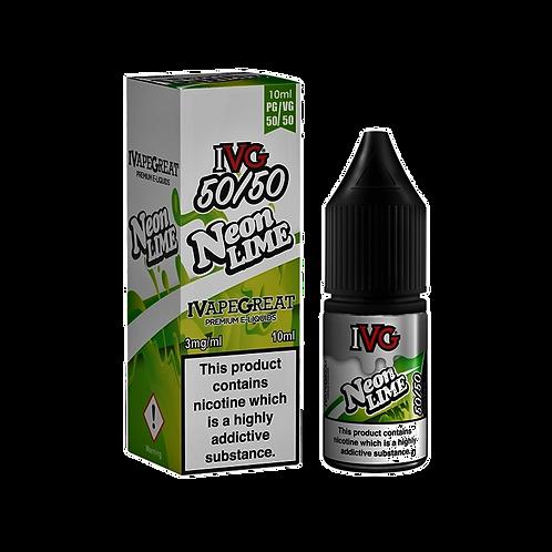 IVG 50:50 Range 10ml - Neon Lime
