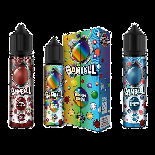 Gumball 50ml Shortfill - Blueberry Raspberry