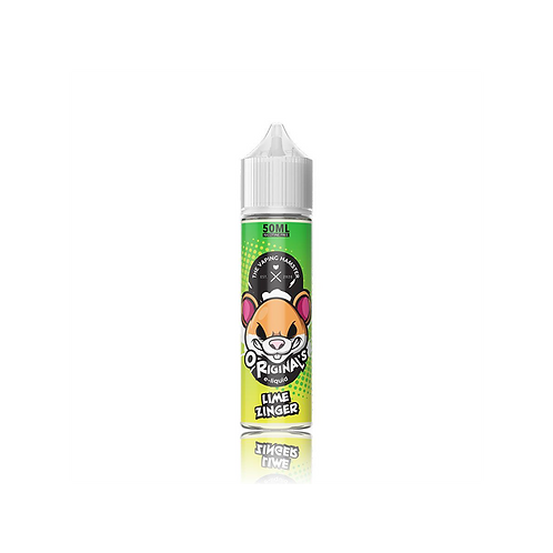 Vaping Hamster Lime Zinger 50ml Shortfill