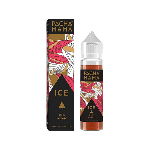 Pacha Mama 50ml Shortfill - Pink Mango Ice