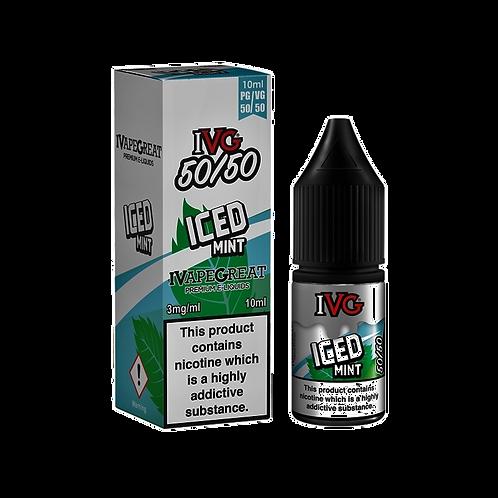 IVG 50:50 Range 10ml - Iced Mint