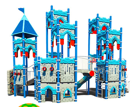 Castle Theme Play Structure