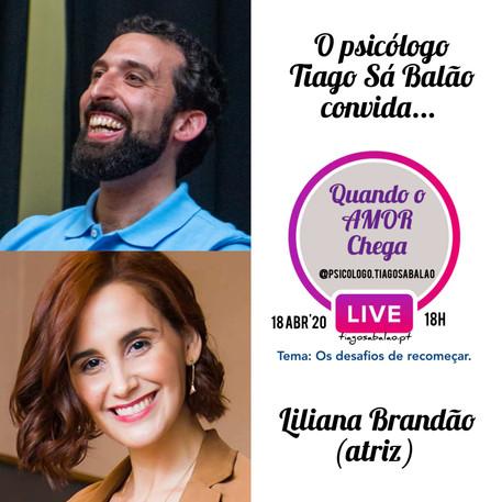 TiagoSáBalão_LilianaBrandão_LiveInstagra