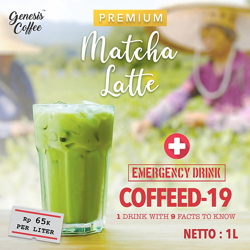 COFFEED-19 PREMIUM MATCHA LATTE
