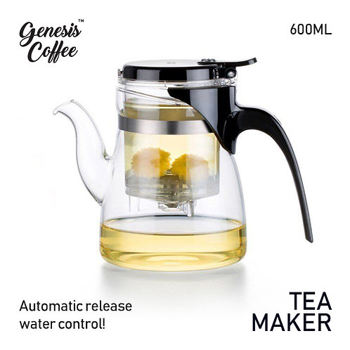 Tea Maker with Automatic Water Release