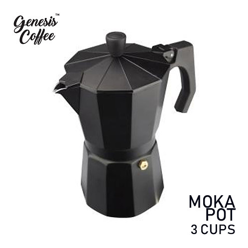 Moka Pot Black