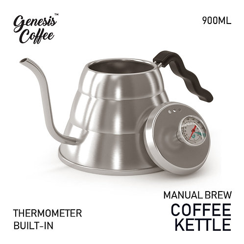 Coffee Kettle with Thermometer