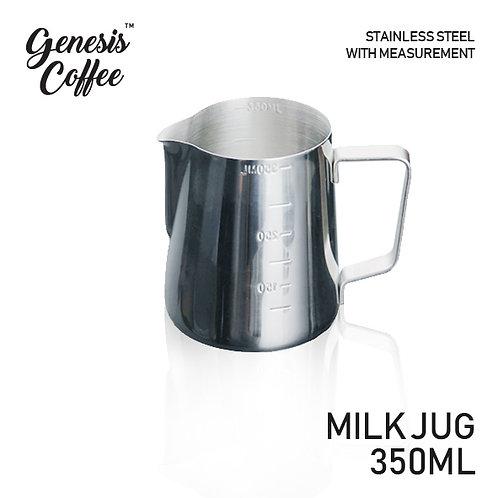 Milk Jug Full Stainless 350ml