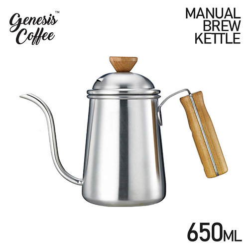 Kettle Pour Over Wooden Handle 650ml
