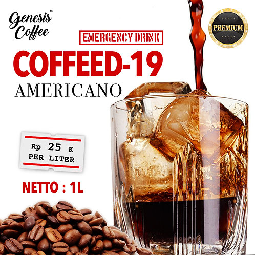 COFFEED-19 / EMERGENCY AMERICANO DRINK