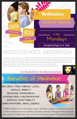 Middleschool Meditaiton