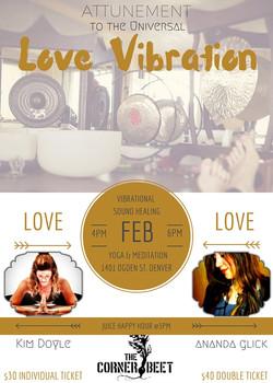 Attunement to Universal Love Vibration
