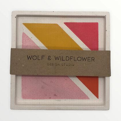 Wolf & Wildflower London Tray  Sunrise