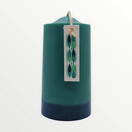 Rosewood + Lavender pillar candle