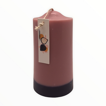 Black Fig + Amber pillar candle