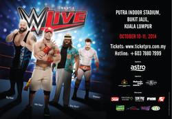 WWE LIVE IN KUALA LUMPUR 2014