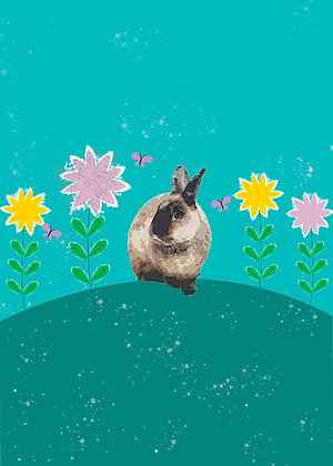Otis' Ear-isistible Easter Card