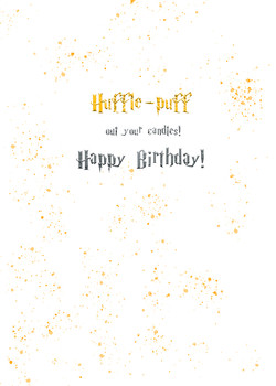 hufflepuff out your candles copy