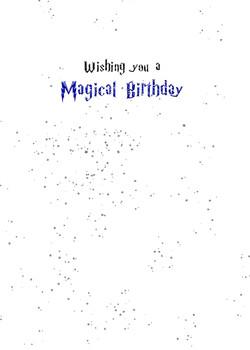magical birthday blue