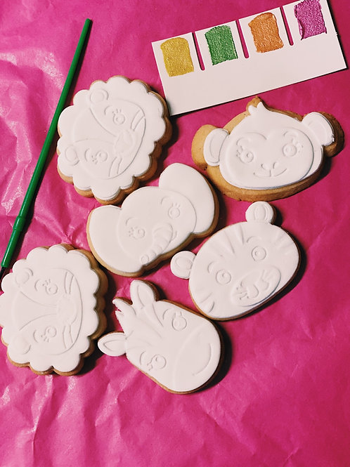 Round 3 paint your own cookie pack