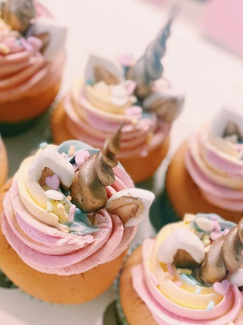 Unicorn cupcakes 12 pack