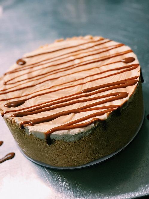 Deep dish cheesecake