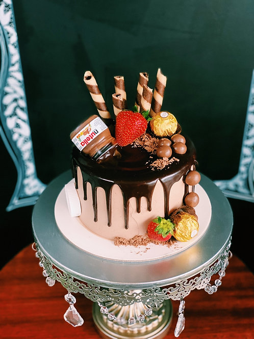 6-12 serve cake