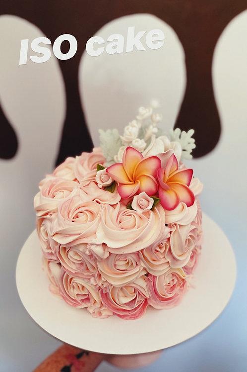 Isolation cake