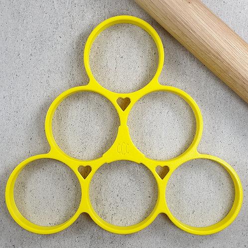 Round Circle Multi Cutter