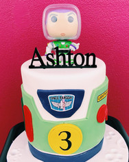Buzz lightyear pop cake including pop figure $190