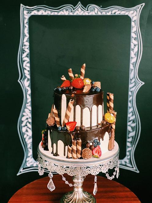 20-30 Serve cake