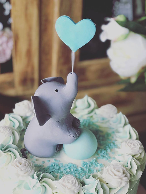 Elephant cake topper Local pickup only