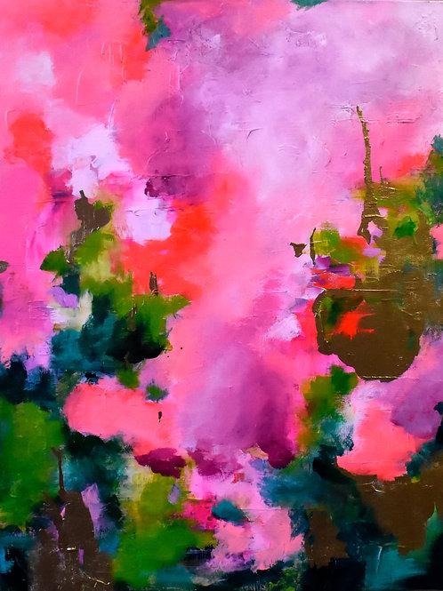 """Feelings"" Acrylic Painting"