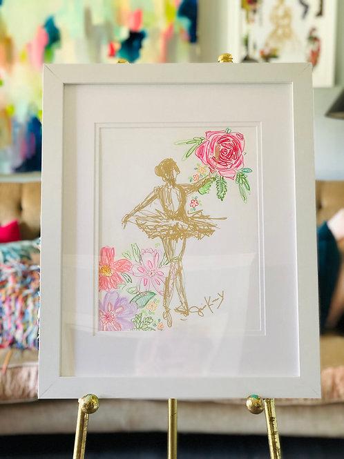 Ballerina Floral