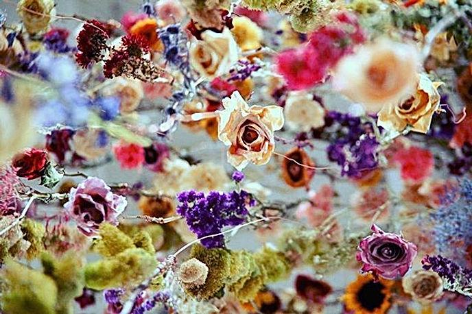 jessica kennedy art floral installation