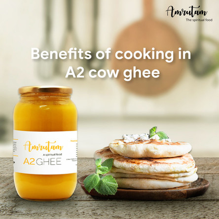 These are the benefits of cooking food in A2 cow ghee