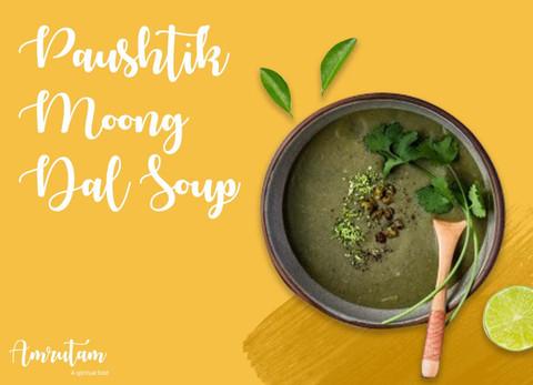 Paushtik Moong Dal soup