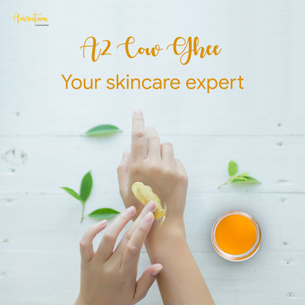 A2 Cow Ghee: Your skincare expert