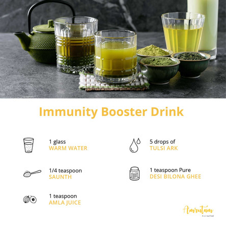 Immunity booster drink: Prevent coronavirus the natural way