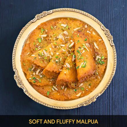 Soft and fluffy Malpua