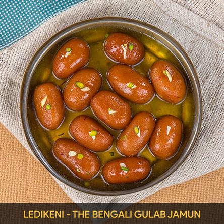 Ledikeni- The Bengali Gulab Jamun