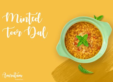 Minted Toor Dal Recipe