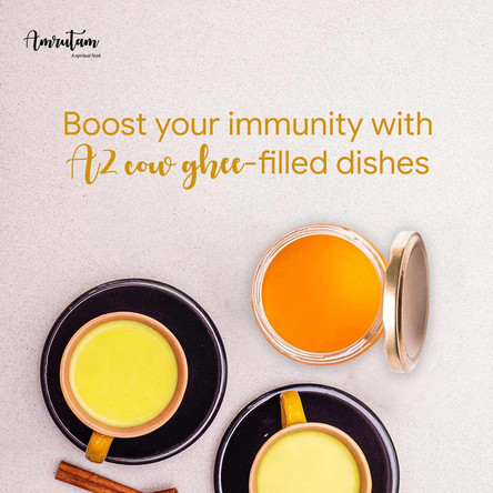 Boost your immunity with A2 cow ghee-filled dishes