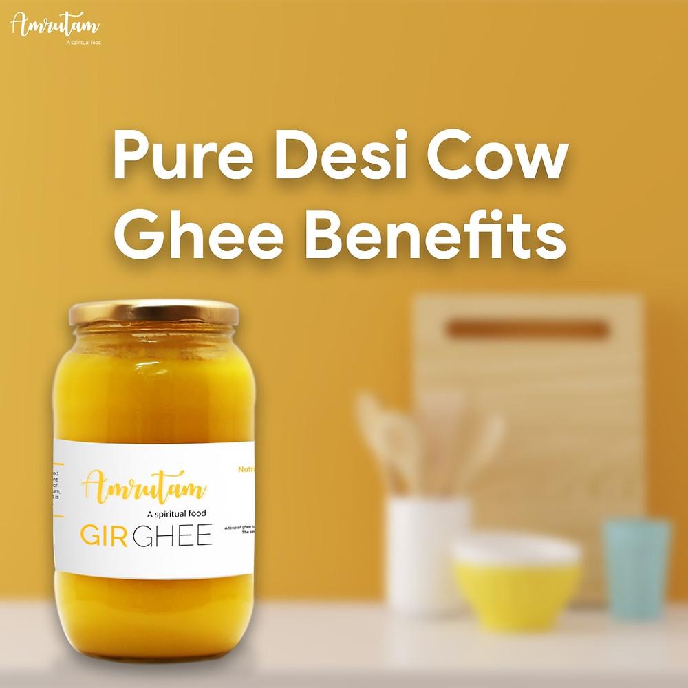 benefits of pure ghee