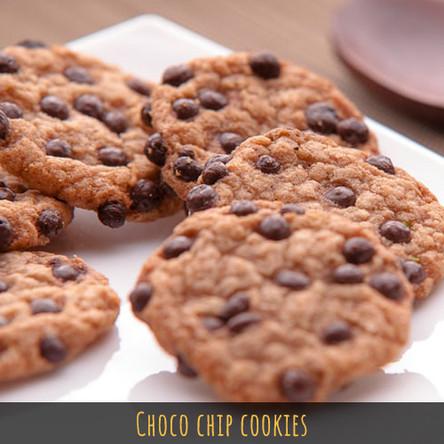 Yummy Choco-chip Cookies