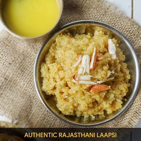 Authentic Rajasthani Laapsi