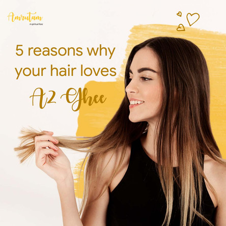 5 reasons why your hair loves ghee