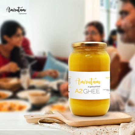 A2 cow ghee for immunity through the ages